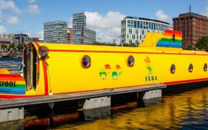 Yellow submarine house