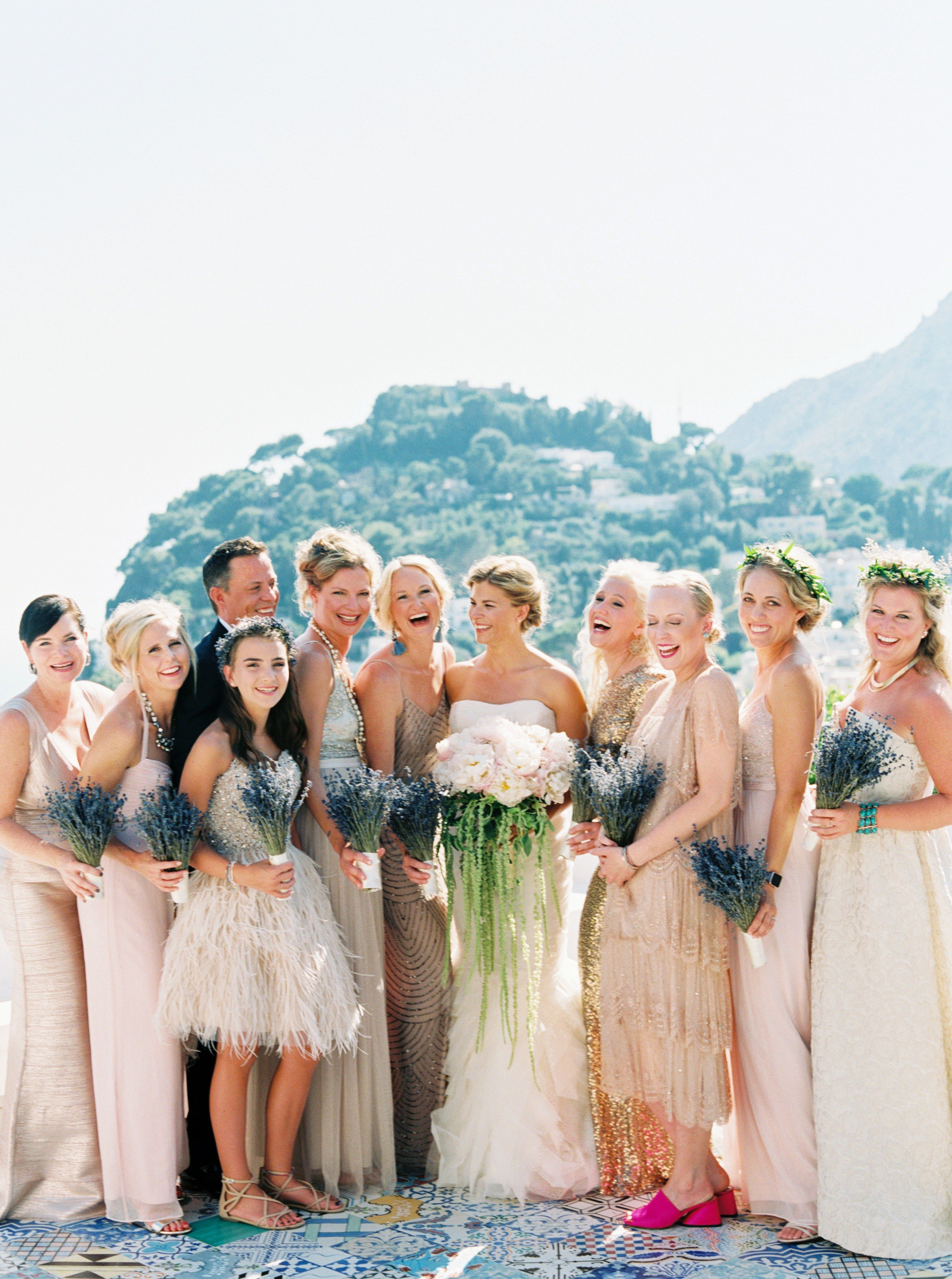 The 3 best places to rent bridesmaid dresses coral wedding these bridesmaid dress rental sites will help keep costs and stress low without ombrellifo Choice Image