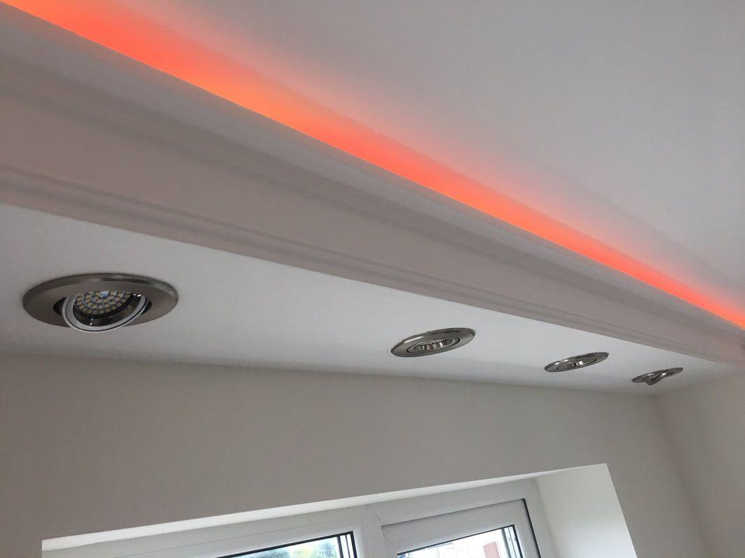 Xps Coving Led Lighting Cornice Bfs6 In 2020 Led Living Room Lights Cove Lighting Ceiling Ceiling Design Living Room