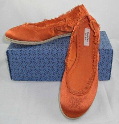 SIMPLY VERA WANG BLAKE ORANGE FLATS SLIPPER SHOES SIZE 10M NEW    http://www.ebay.com/itm/SIMPLY-VERA-WANG-BLAKE-ORANGE-FLATS-SLIPPER-SHOES-SIZE-10M-NEW-ORIG-59-99-/160892323403?pt=US_Women_s_Shoes=item2575ee064b