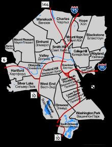 neighborhood maps providence ri | Neighborhoods [ edit ] | RI ...