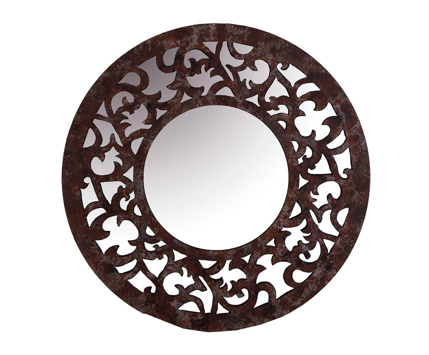 Espejo redondo espejos pinterest espejos redondos for Espejo redondo marco madera