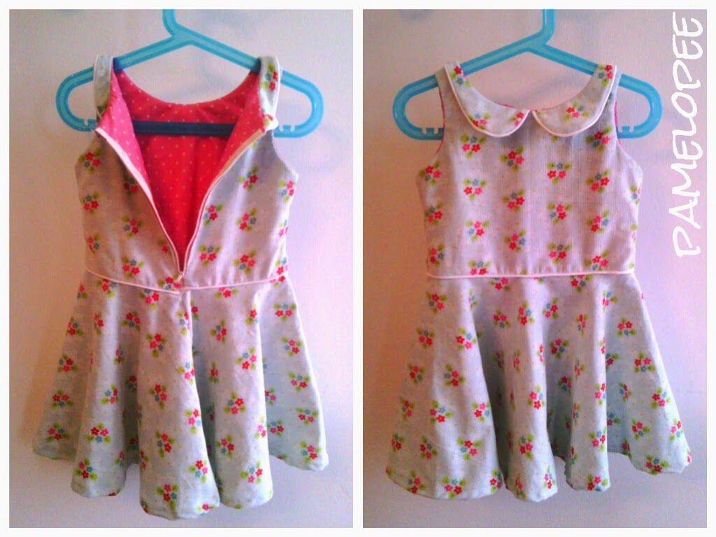 Kleid kostenloses Schnittmuster + Tutorial | Nähen / Sewing ...