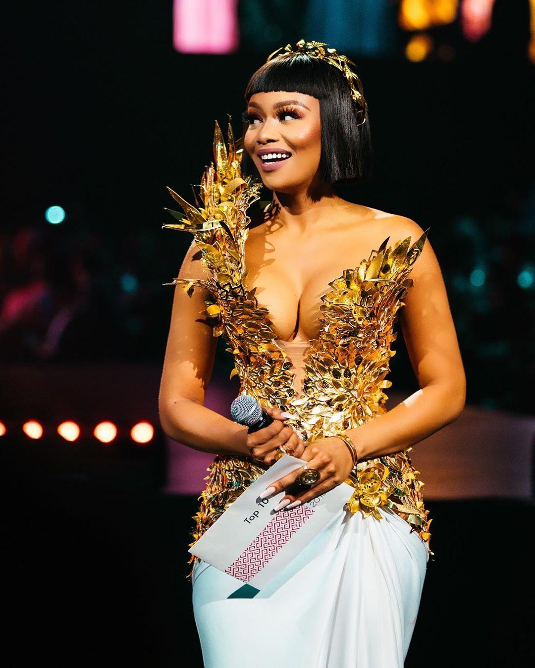 Every Look Bonang Matheba Wore as Miss South Africa 2019