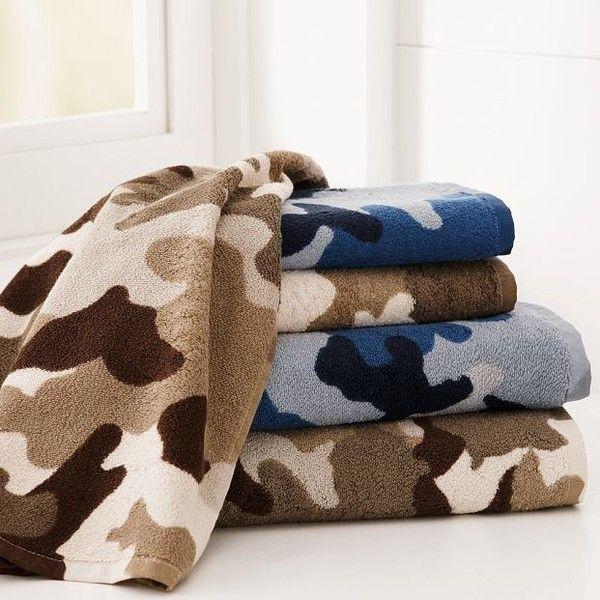 Camo Bath Towels Camo Home Decor Camo Bath Camo Rooms