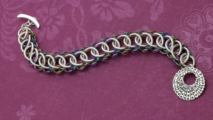 Half Persian 3 In 1 Weave Bracelet