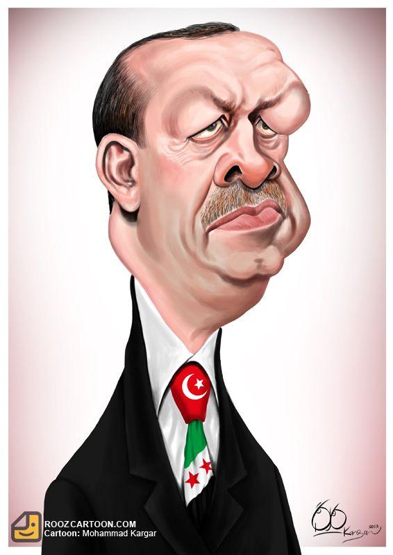 Resultado de imagen para Caricaturas de Recep Tayyip Erdogan