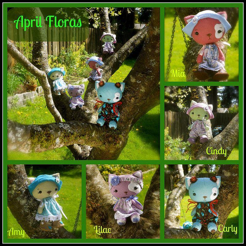 April Floras Collage