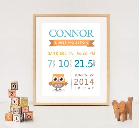 Personalized baby boy birth stat printable by lillylamanch mood personalized baby boy birth stat printable by lillylamanch negle Images