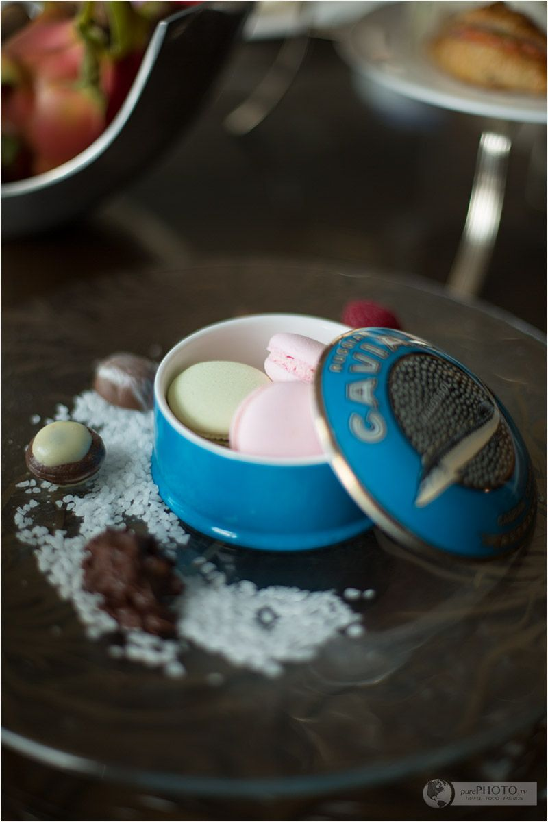 Tea ceremony and welcome amenity - St. Regis Bangkok in Thailand ...