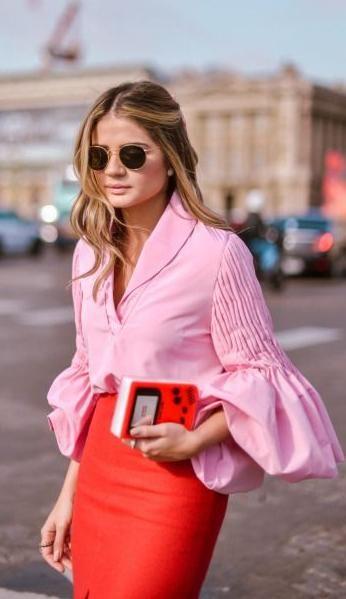 1da176b4c6dae pink + red. street style.