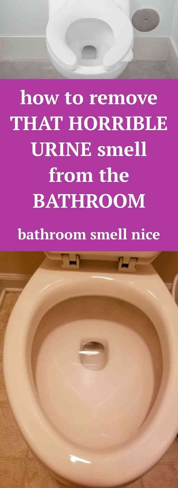13 EASY WAYS TO GET RID OF BATHROOM SMELLS (With images