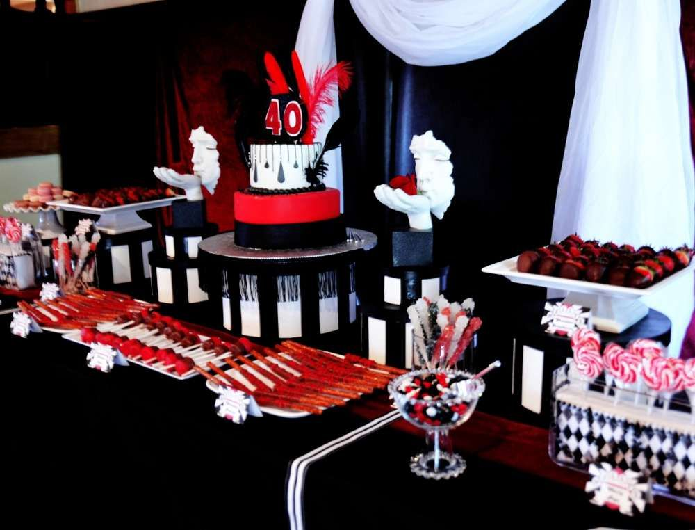 Moulin Rouge Birthday Party Ideas | Moulin Rouge, Rouge and Bridal ...