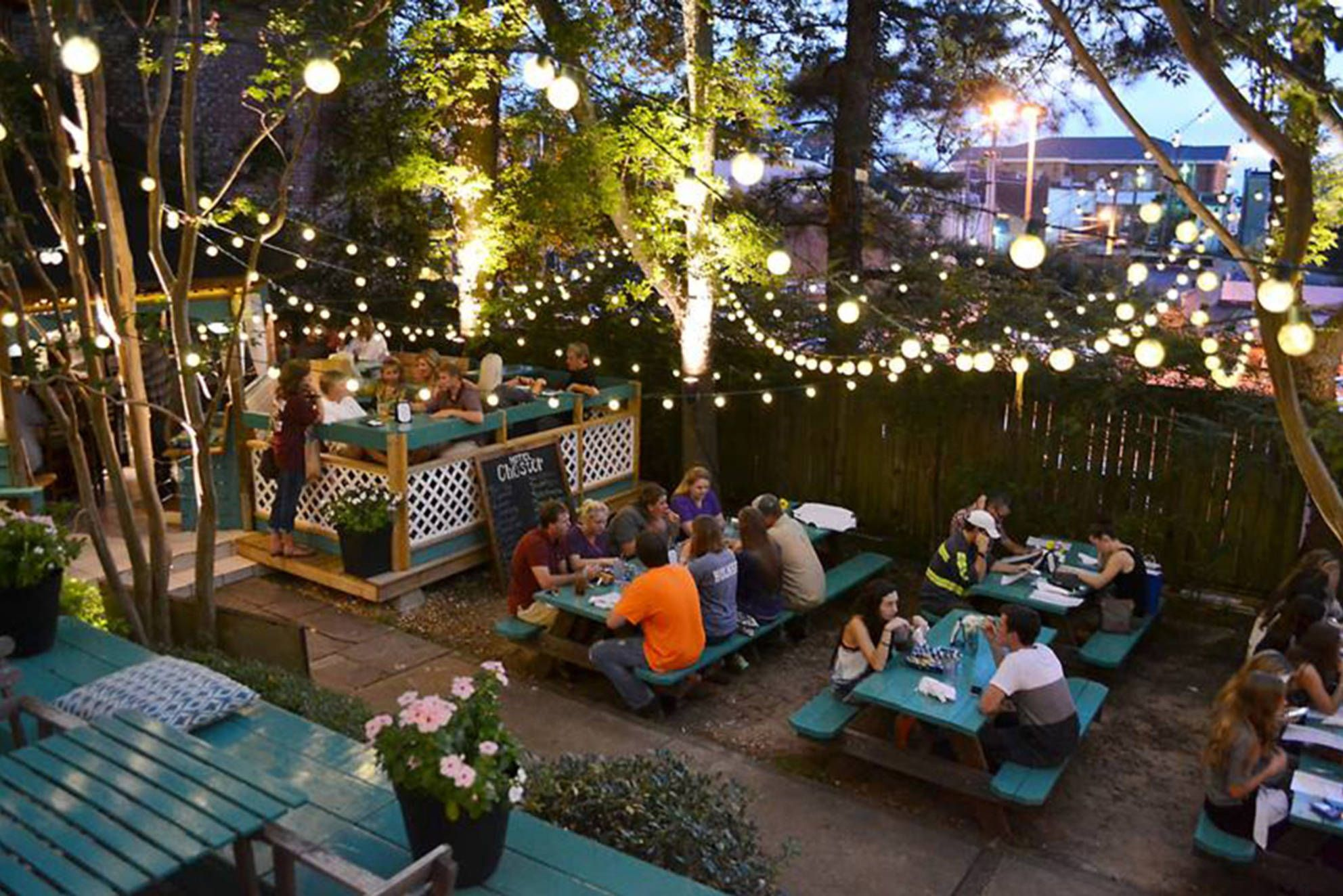 Beer Gardens are my favorite! | Cool office space features ...