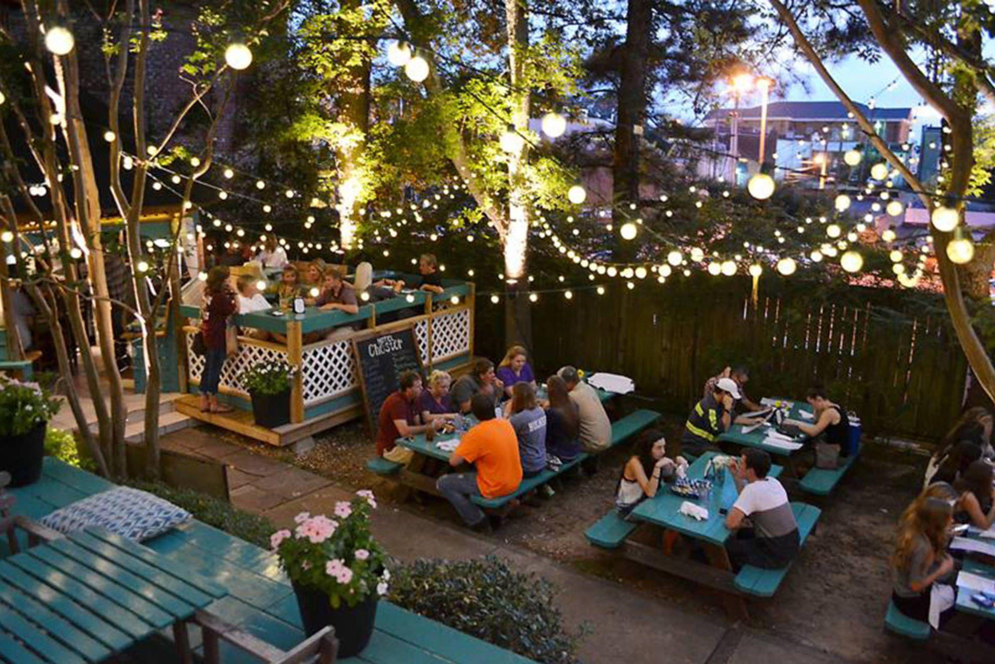 Beer Gardens are my favorite! Restaurant patio, Outdoor