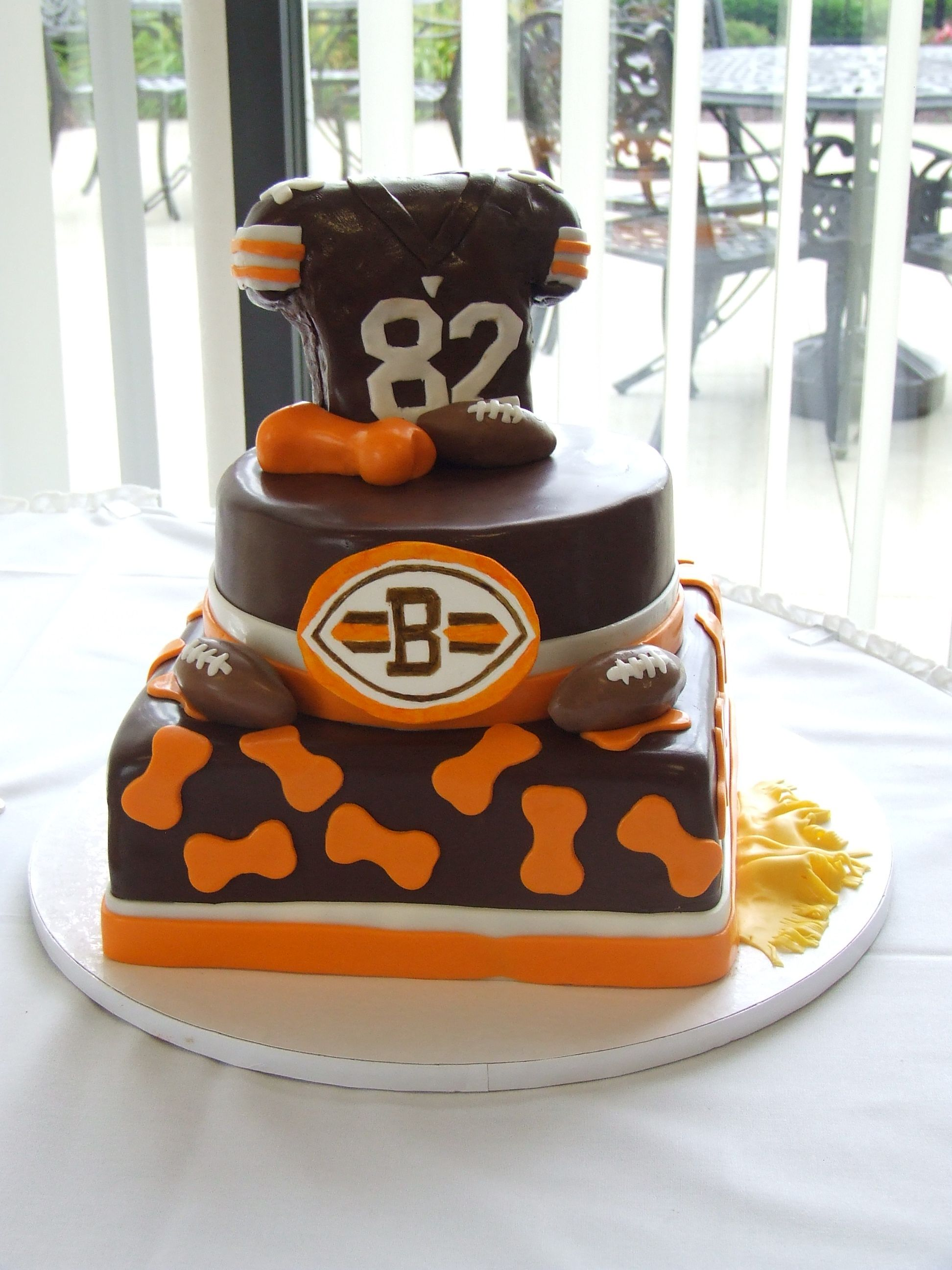 cleveland browns cake for women