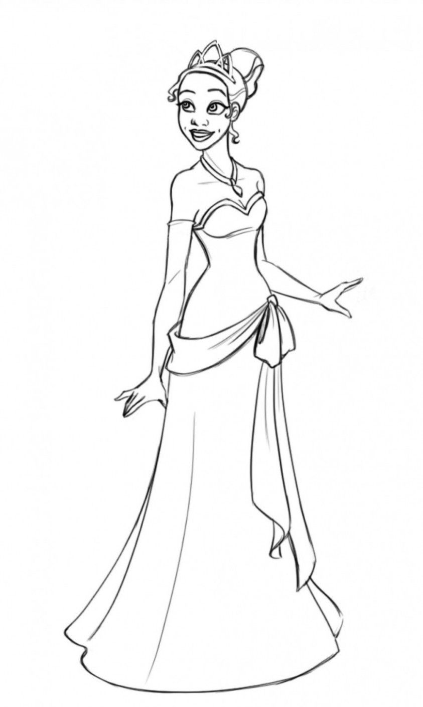 8 Princess Tiana Coloring Pages In 2020 Disney Princess Coloring Pages Princess Coloring Pages Disney Princess Colors