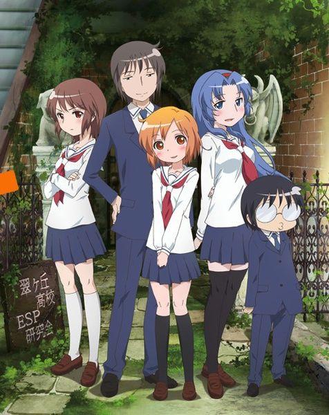 Kotoura San Tv Anime News Network Anime Kotoura Anime English