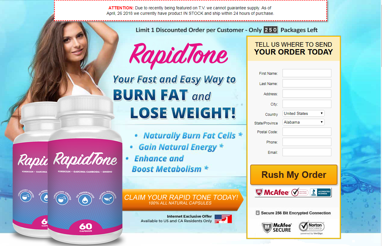 Rapid Tone Reviews Updated 2019 Fisrt Read Side Effects
