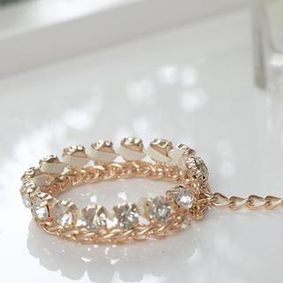 Rhinestone Chain Bracelet from #YesStyle <3 Cuteberry YesStyle.com