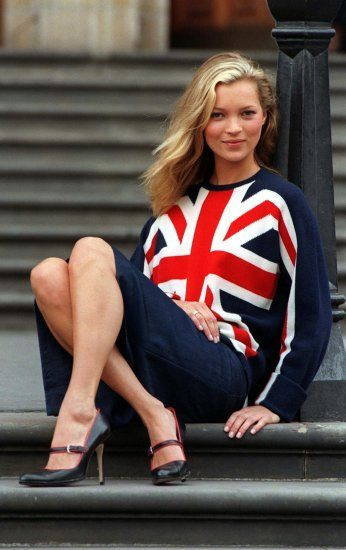 Nacktfotos als Teenager: Kate Moss unter Druck gesetzt