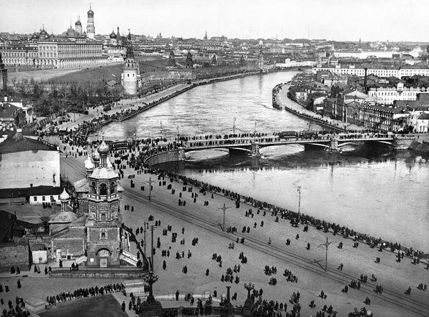 Москва нестареющая: столица в фотографиях | Фотографии ...