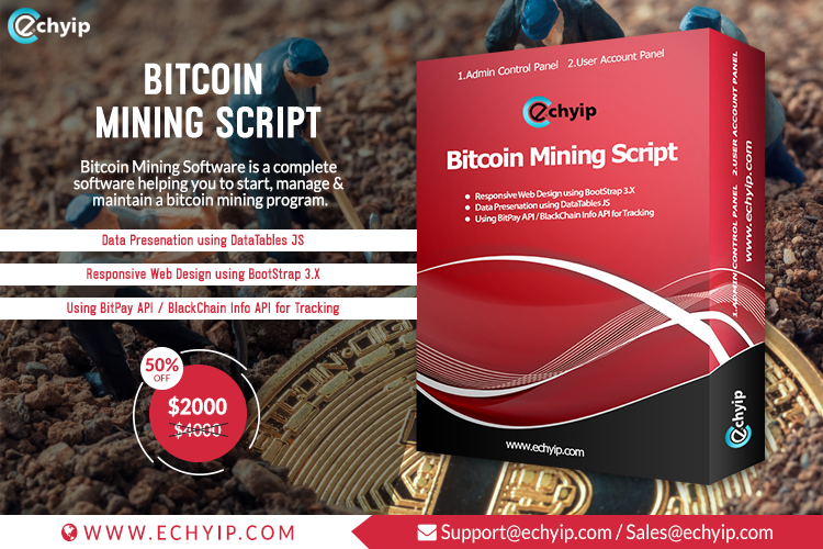 Buy the best mining script software to launch your own