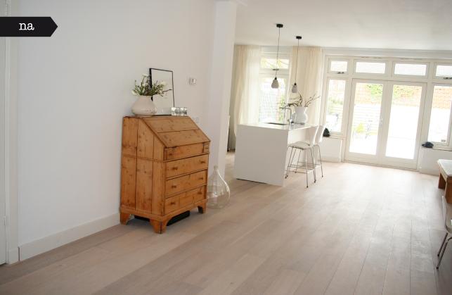Aanbouw Open Keuken : De aanbouw van een jaren woning afbeelding woonkamer