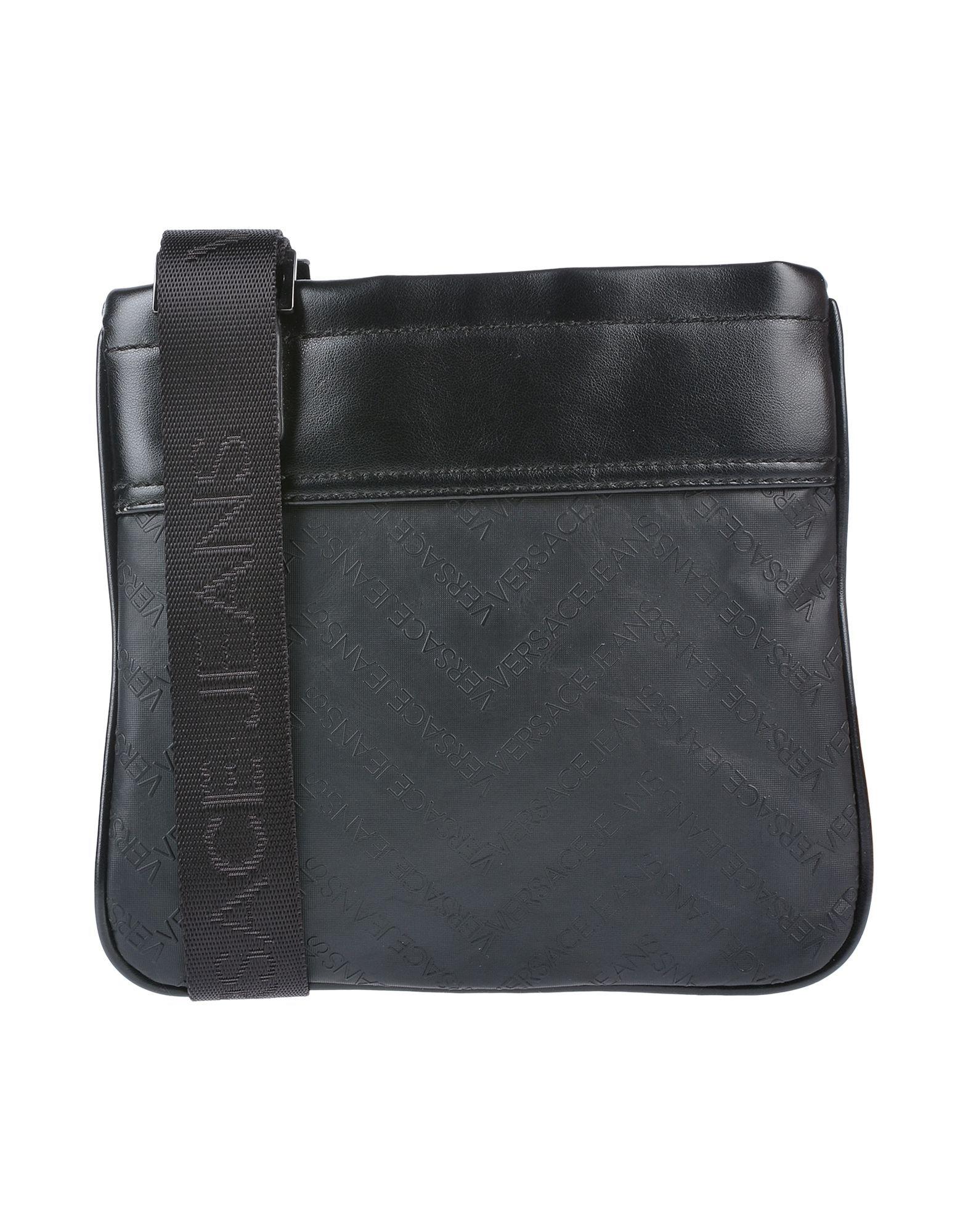 VERSACE JEANS HANDBAGS.  versacejeans  bags  shoulder bags  leather   polyester  denim ec811d06950ba