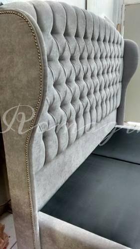 Cabecera Capitone Matrimonial C/orejas - $ 3,500.00 | Bedroom ...