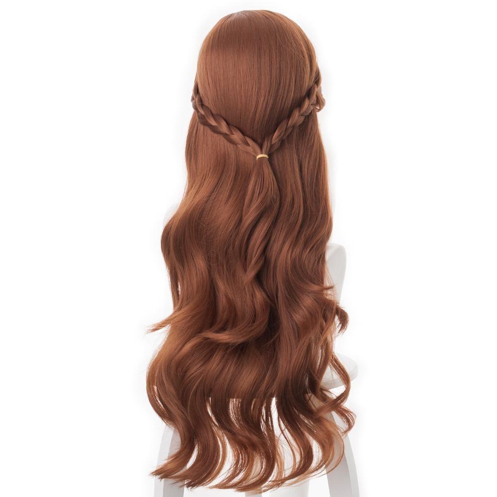 Disney Frozen 2 Princess Anna Brown Cosplay Wigs In 2020 Anna Hair Frozen Anna Frozen Hair Frozen Hair