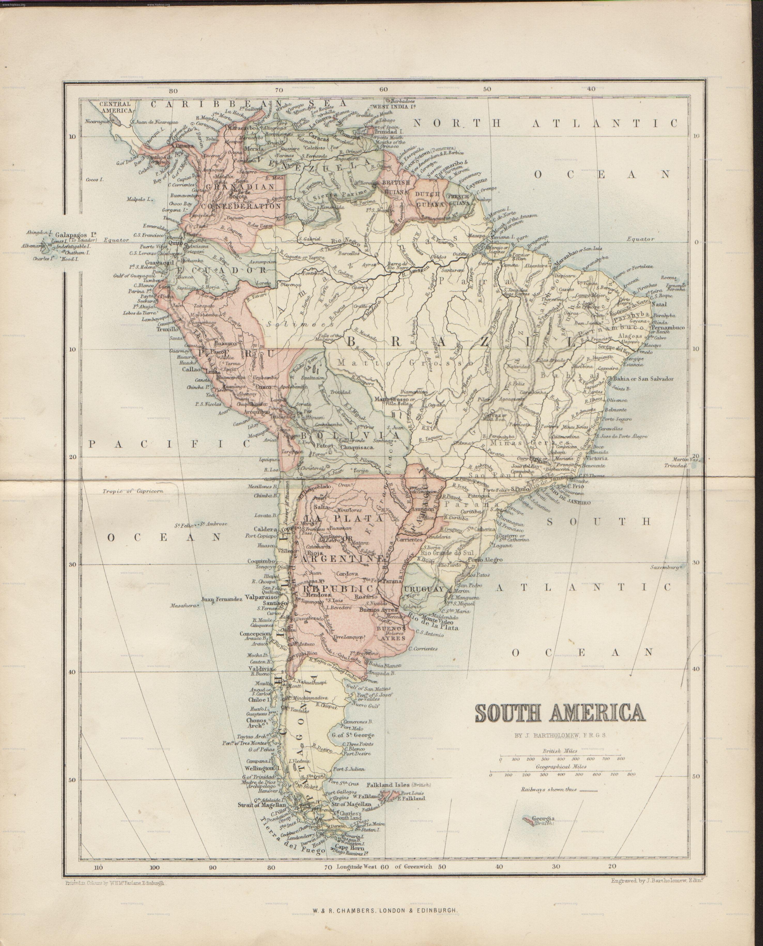 Antiguos mapas de América del sur | Antique Maps | Pinterest | Mapas ...