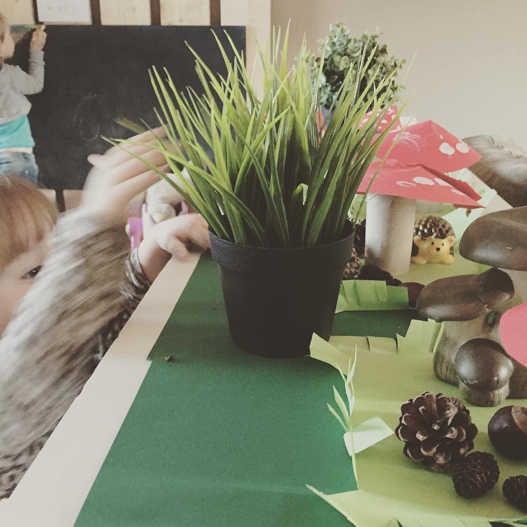 Our autumn display... #autumn #kids #craft #kidscrafts #moms