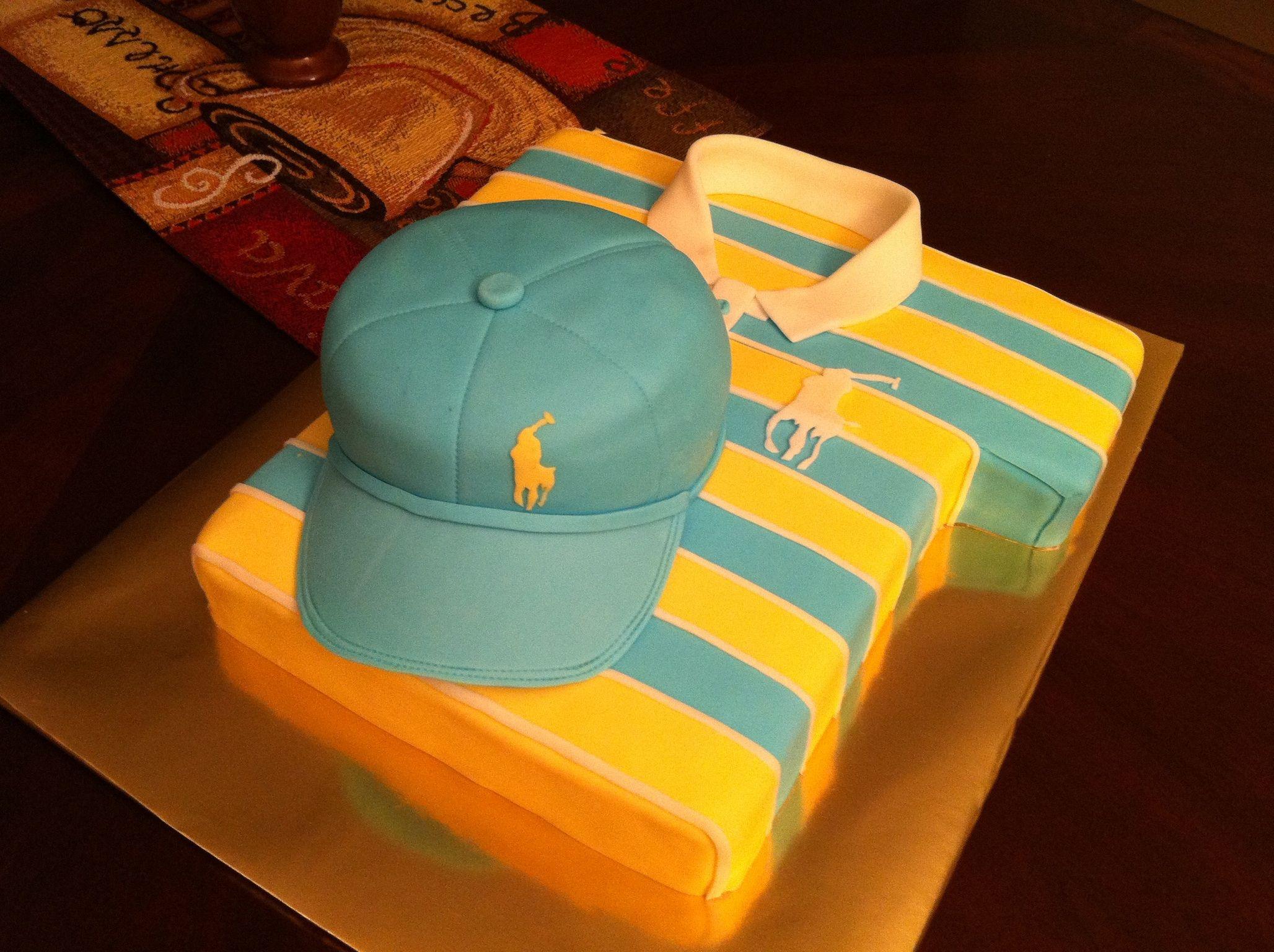 Cake Polo Shirt Design : Polo Shirt Cake Party Pinterest