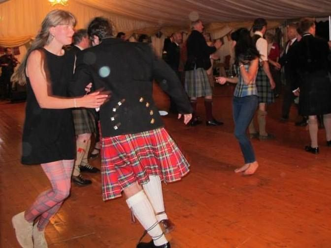 Ceilidh at Stewart Society Gathering 2014 Picture by Tiggy Claustres