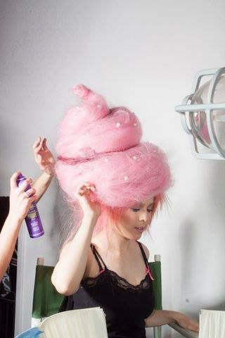 DIY Cotton Candy Costume | DIY Cotton Candy Costume Ideas ...