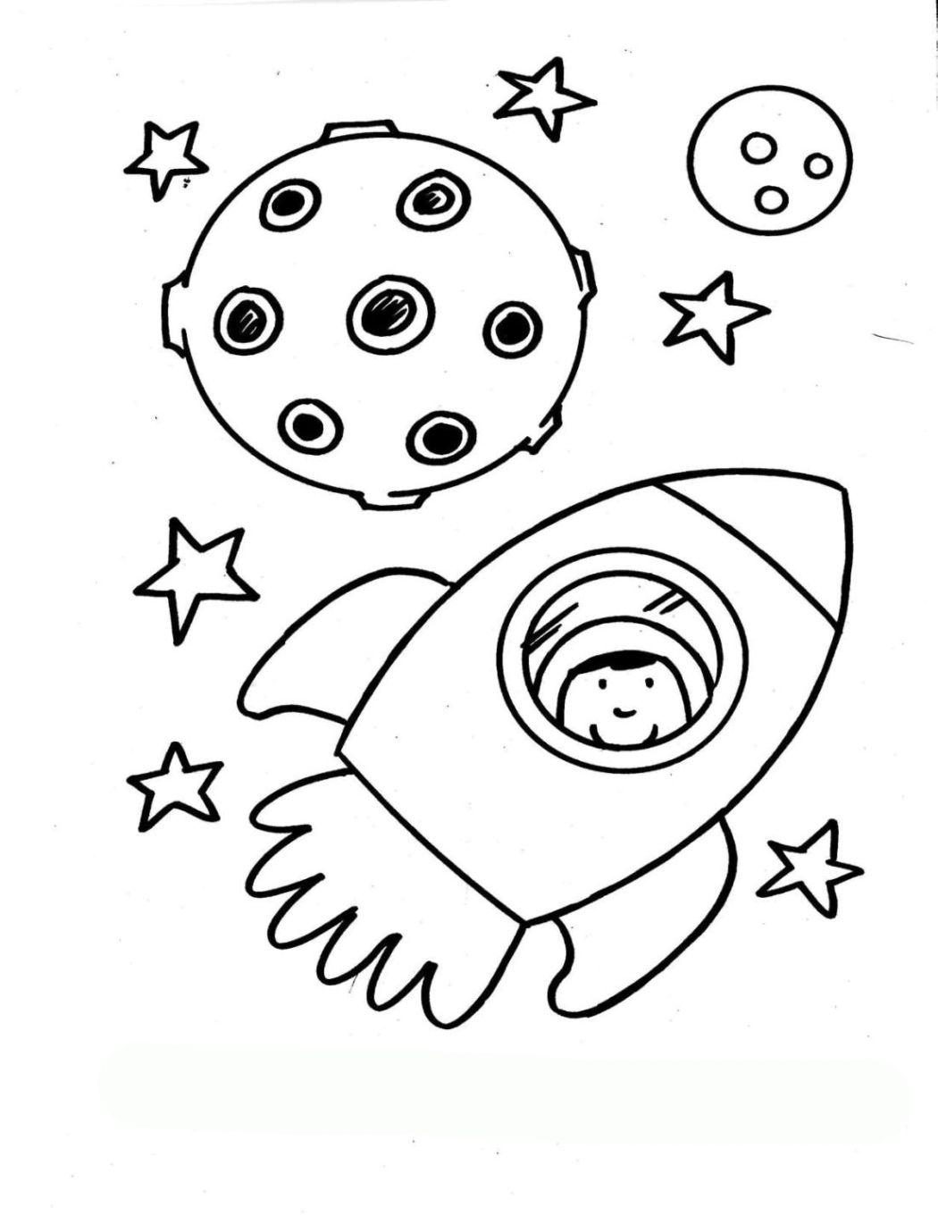 Vorlagen zum Ausdrucken Ausmalbilder Rakete Malvorlagen 1