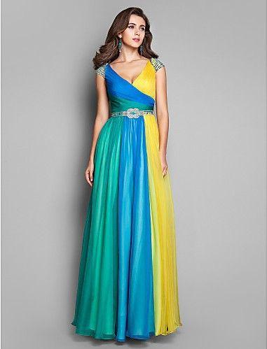 Multi Colored Bridesmaid Dress Weddings My Odd Style Pinterest