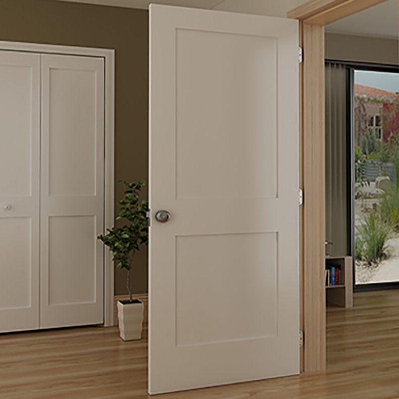 Paneled Solid Wood Painted Shaker Standard Door Interior Door Styles Shaker Interior Doors French Doors Interior