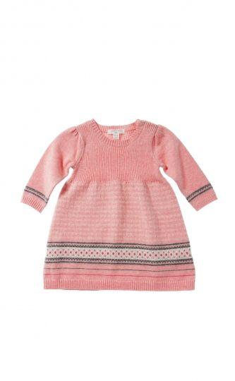 Girls Fairisle Dress - Purebaby | For baby | Pinterest | Babies