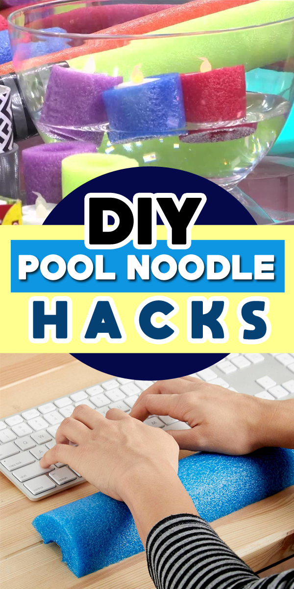Super Useful Things That You Can Do With A Pool Noodle Pool