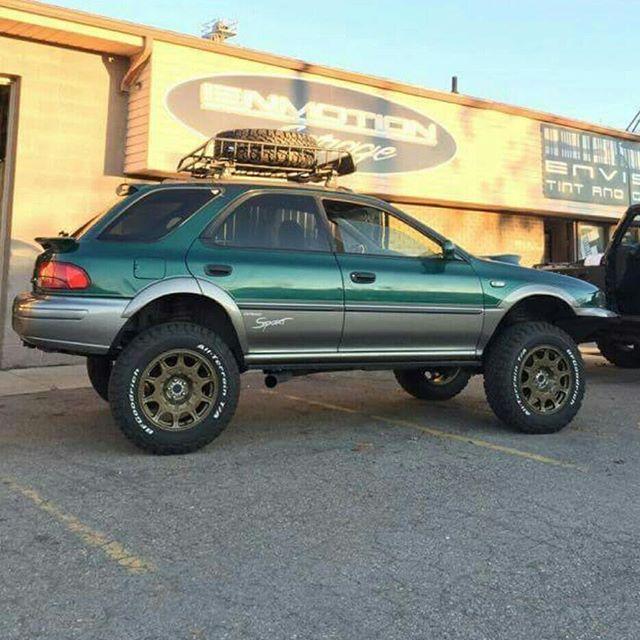 Lifting them subies! Oh yeah baby! | Subarus | Subaru ...
