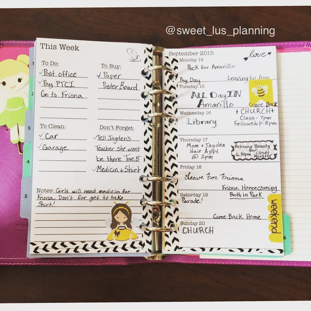 My Personal @officialfilofax layout for this week!! I am so glad I took the jump and got one!! I am loving it! #filofax #filofaxgirl #plannerlove #planneraddict #plannercommunity #personalfilofax #sweetlusplanning #washi #stickers by sweet_lus_planning