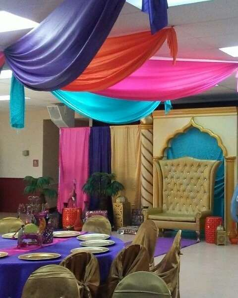 Arabian nights baby shower party ideas babyshower for Arabian night decoration