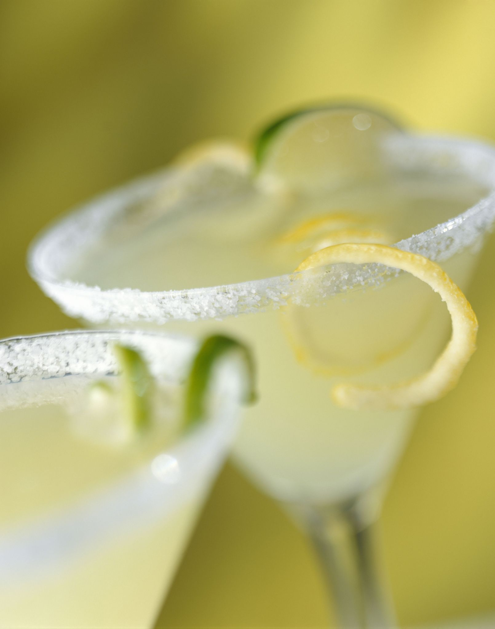 Use a limoncello rinse in your vodka martini to create a sweet and tart cocktail that is easy to fall in love with.