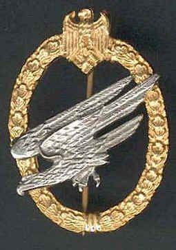 Ww2 german fallschirmjager badge ww2 german medal wwii uniforms pinterest badges - German military decorations ww2 ...
