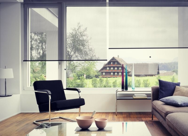 Modern Roller Blinds Lifestyle Picture Home Pinterest Contemporary Roller Blinds