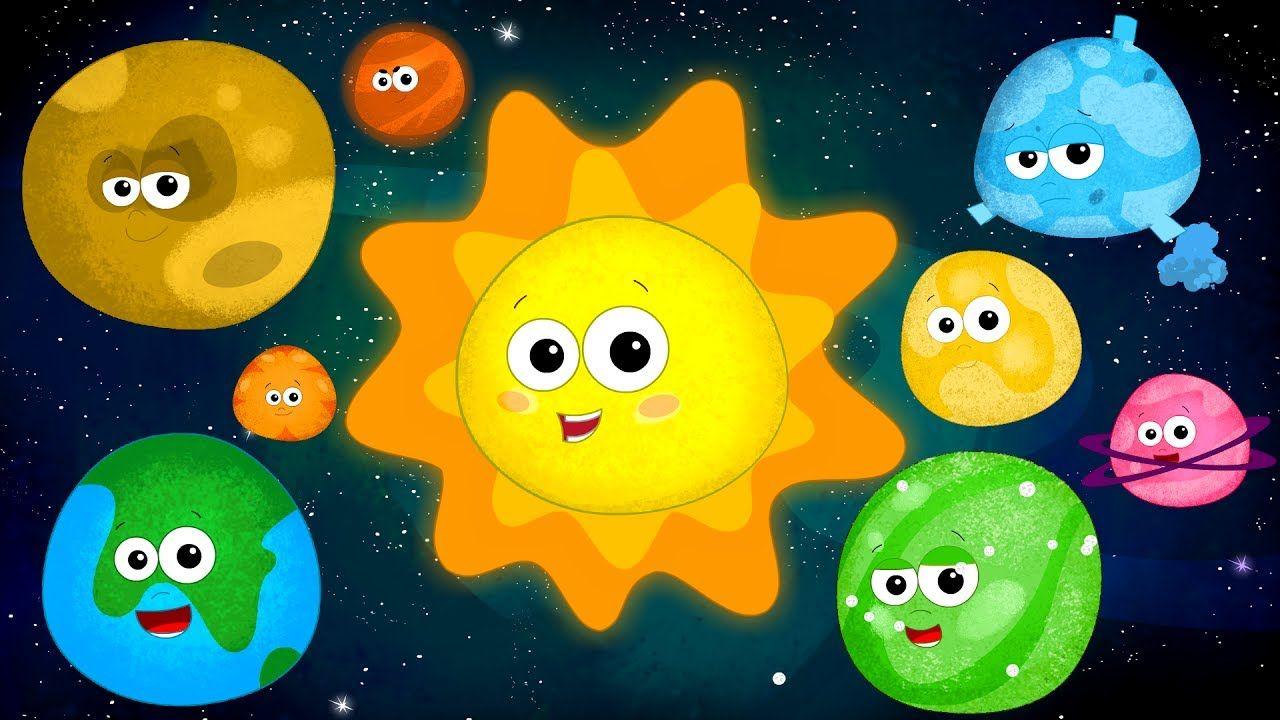 Детские картинки о планете