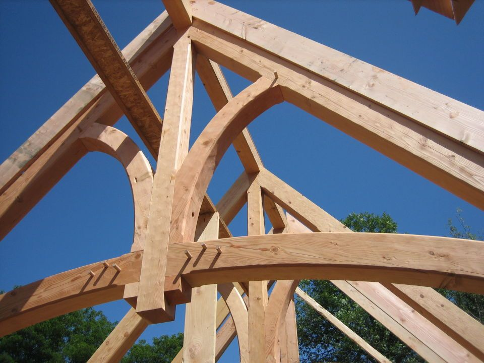 timbertrusses | Heavy Timber Trusses « Swiftsure Timberworks
