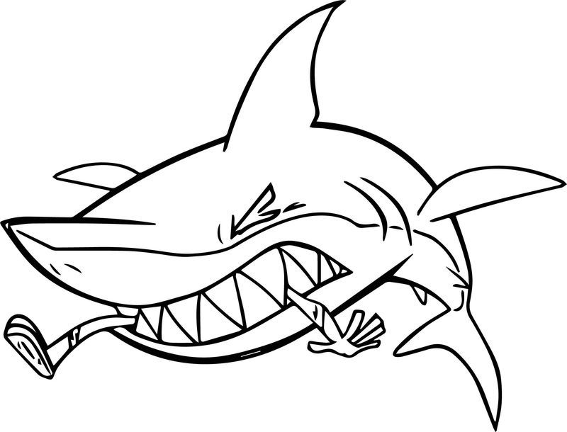 55 Shark Shape Templates Crafts Colouring Pages Shark